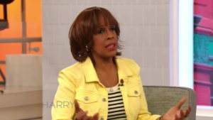Gayle King Talks First Date Questions with Harry