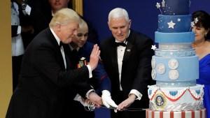 Trump Inaugural Cake Is Replica of Obama's: Baker