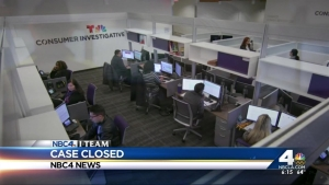 NBC4 I-Team's Consumer Investigative Center: Case Closed