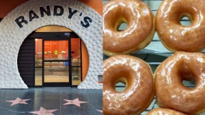 Randy's Donuts Opens on the Walk of Yum, er, Fame