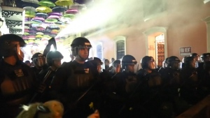 Protests Over Puerto Rico Governor's Scandal Turn Violent