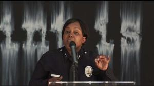 LAPD Celebrates First African-American Woman Promotion