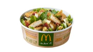 New McDonald's Salad Has More Fat, Calories Than a Big Mac