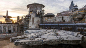 Disneyland Releases Photo of the Millennium Falcon at the Upcoming Star Wars Attraction