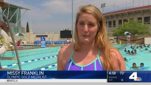 Olympic Gold Medalists Encourage Kids to Learn to Swim