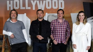 Pitt, DiCaprio and Robbie Talk 'Once Upon a Time in...Hollywood'