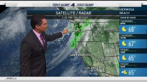 <p>Light rain and drizzle is in the forecast for tomorrow morning. Anthony Yanez has your first alert First Alert Forecast for Thursday, Oct. 19, 2017.</p>