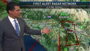<p>No storms are expected this weekend and temperatures will be a little hotter. Anthony Yanez has your First Alert forecast for Friday, Aug. 17, 2018.</p>