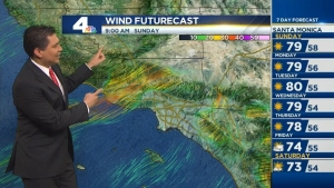 We are getting a taste of an early spring this weekend and this weather pattern is going to stay with us a while. Anthony Yanez reports for the NBC4 News at 5 on Saturday, Feb. 6, 2016.