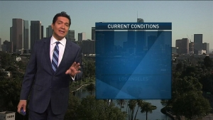 Temps are expected to drop. Anthony Yanez has the forecast for the NBC4 News on Friday, Oct. 21, 2016.