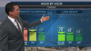 <p>Comfortably cool weather will continue throughout the week. Anthony Yanez has more on NBC News4 on Tuesday, June 18, 2019.</p>