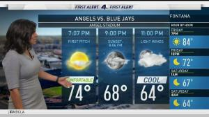 <p>Summer is officially here and there is an excessive heat warming in effect until 8 p.m. in the high desserts. Belen De Leon has your First Alert Forecast for Friday, June 22, 2018.</p>