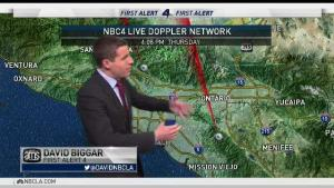 <p>Southern California is seeing a nice dose of weather. David Biggar has your First Alert Forecast for the NBC4 News on Thursday, Sept. 21, 2017.</p>