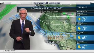 <p>SoCal scorches, but the extreme temperatures are expected to subside. Fritz Coleman has the First Alert Forecast for Monday, June 26, 2017.</p>
