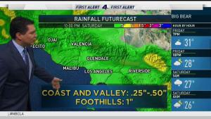 <p>There will be a cold front moving in tonight and there is a chance of rain Saturday afternoon. Anthony Yanez has your First Alert Forecast on Friday, March 16, 2018.</p>
