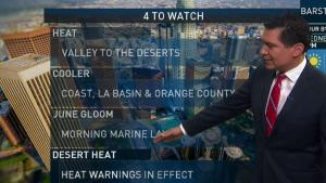 <p>Heat warnings are in effect. Anthony Yanez has your First Alert forecast for Wednesday, June 20, 2018.</p>