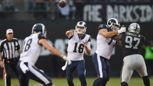 Goff Outplays Carr, Rams Top Raiders 24-21
