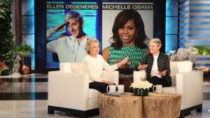 'Ellen': DeGeneres Helps Clinton Narrow VP List