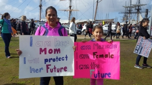 Locals Unite for San Diego Women's March