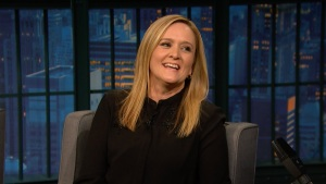 'Late Night': Samantha Bee Marked John Oliver's Desk