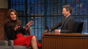 'Late Night': Caitlyn Jenner Defends Her Vote for Trump