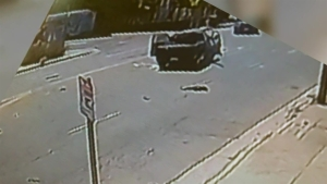Watch: Hit-and-Run Crash Flips Family's SUV