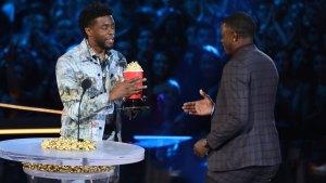 Chadwick Boseman Honors Real-Life Hero at MTV Awards
