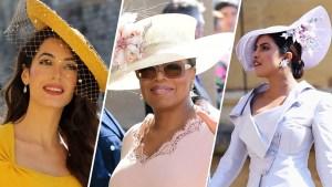 Stars at the Royal Wedding