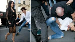 Kim Kardashian Narrowly Avoids Prank Assault in Paris