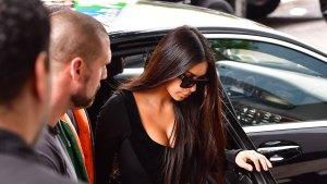 Kim Kardashian West Resurfaces at Husband's Concert