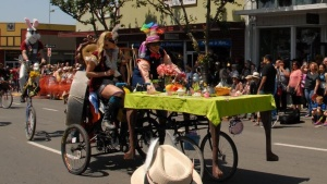 Kinetic Cool Rolls (and Floats) in Humboldt County