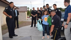 Daughter of Fallen Officer Gets Surprise Police Escort