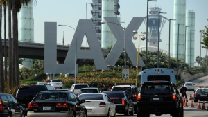 LAX Holiday Travel to Spike Monday, Tuesday