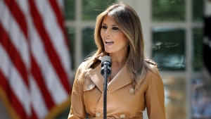 First Lady Returns to White House After Kidney Treatment