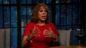 'Late Night': Gayle King on Media's Meeting With Trump