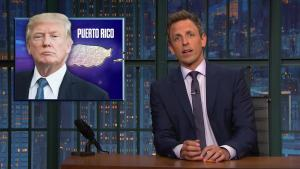 'Late Night': A Closer Look at Trump in Puerto Rico