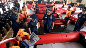 Raw Video: Thousands Move to Safety in Central Philippines