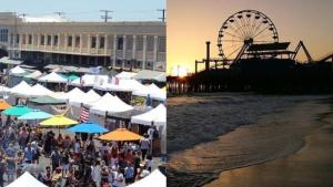 It's a Free Smorgasburg LA Holiday Pop-up, at Santa Monica Pier