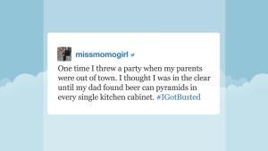 'Tonight': Hashtag #IGotBusted