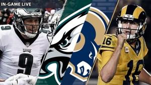How to Watch Sunday Night Football: Eagles vs. Rams