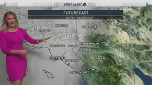 The first of three storms will hit tonight. Crystal Egger has your First Alert Forecast on Wednesday, Jan. 18, 2017.
