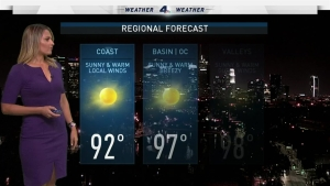 Dry, strong and hot Santa Ana winds will increase fire weather danger. Crystal Egger has the forecast for Thursday, Oct. 20, 2016.