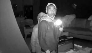 Intruders Caught on Homeowner's New Security Cameras