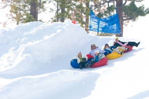Snow Tubing Opens for the Season in Big Bear