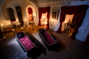 Halloween Treat: Party at Dracula's Castle