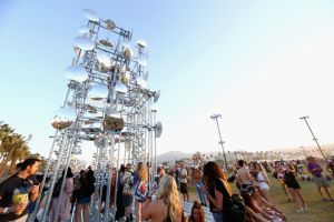 Festivalgoers Flock to Indio for Coachella Weekend Two