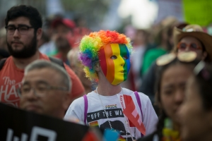 Sunday's LA #ResistMarch in Photos