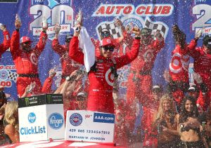 Scenes From NASCAR Auto Club 400 Race Weekend