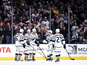 Kings Sink Sharks 4-1 To End Season On High Note