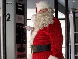 Santa Takes the Tram